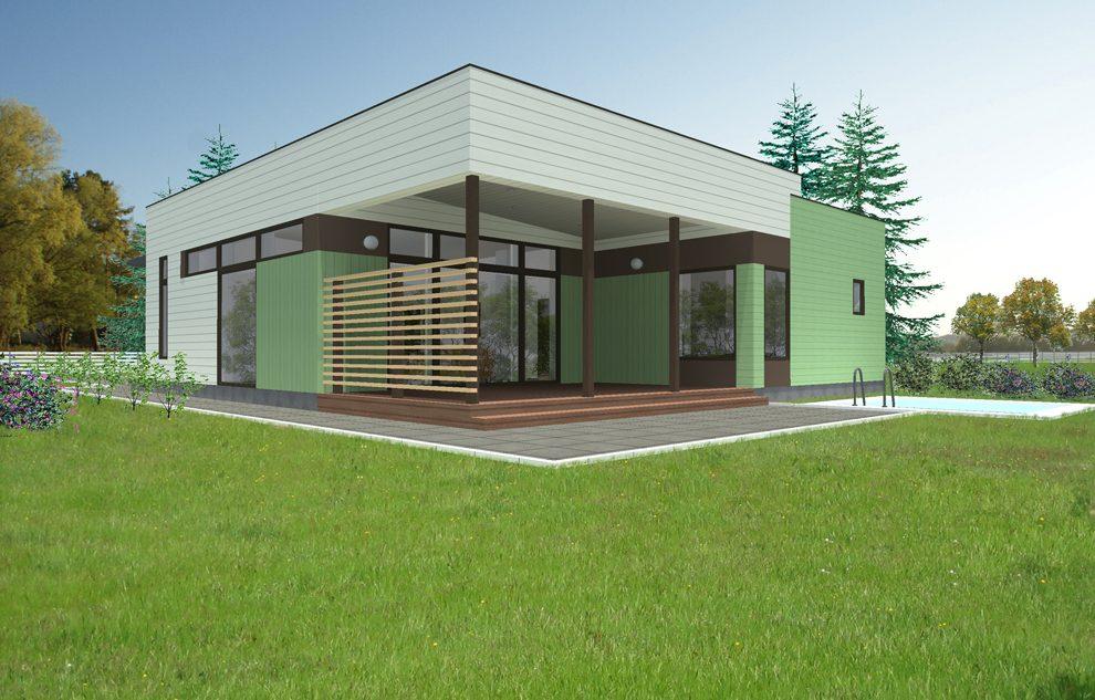 Casa prefabricada Bezana 181