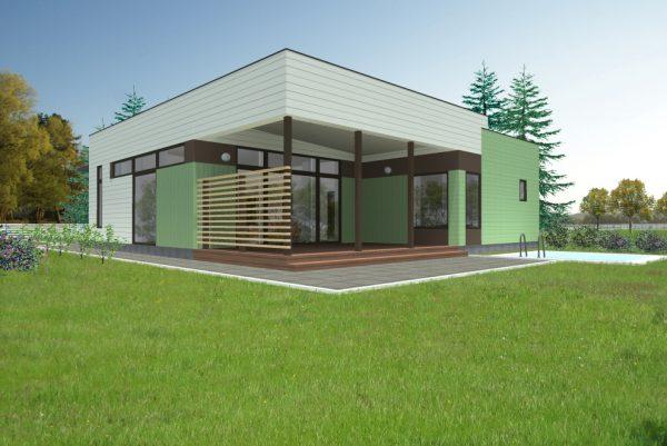 Casa prefabricada Bezana 88