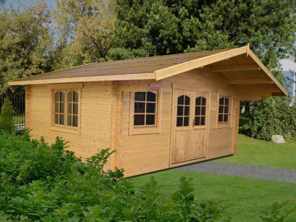 Casa de madera prefabricada Caroline 1 - 2