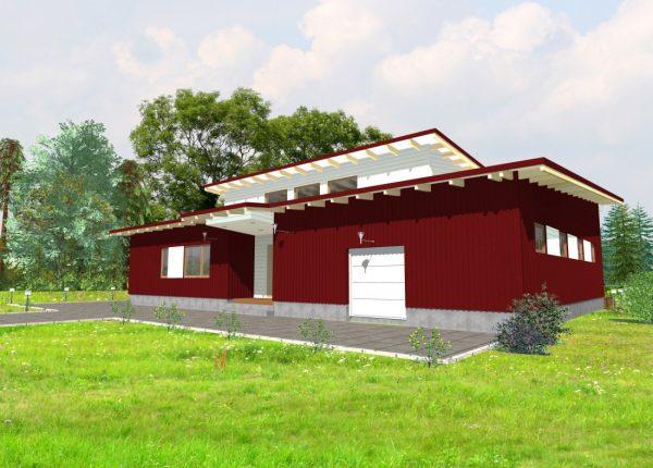 Casa prefabricada Comillas 316