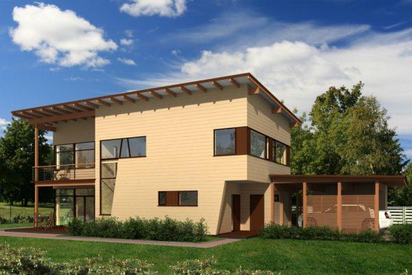 Casa de madera Cosío 286