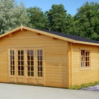 Casa de madera prefabricada Jennifer