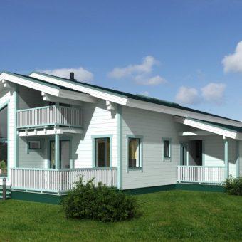Casa de madera Noja 260