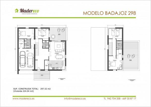 Modelo Badajoz 298