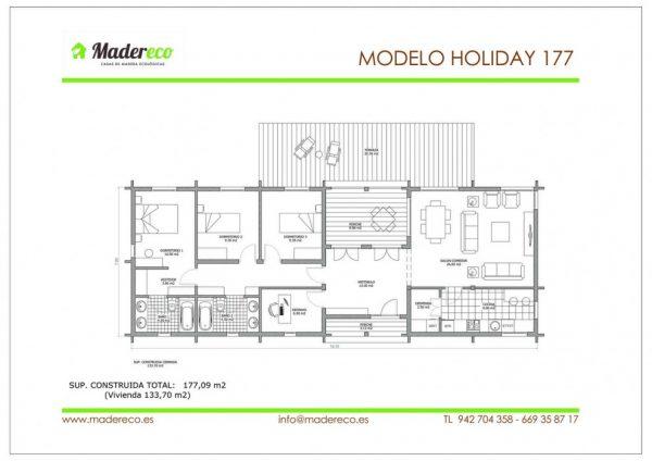 Casa prefabricada Holiday 177