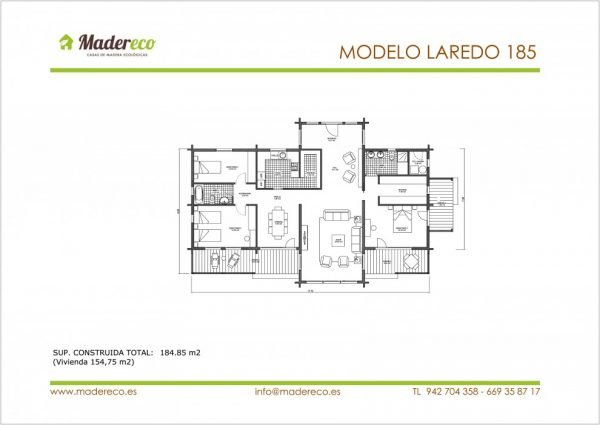 Modelo Laredo 185
