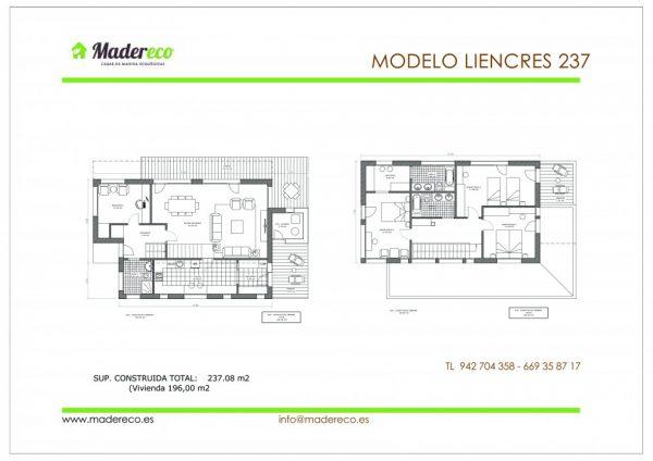 Casa de madera Liencres 237