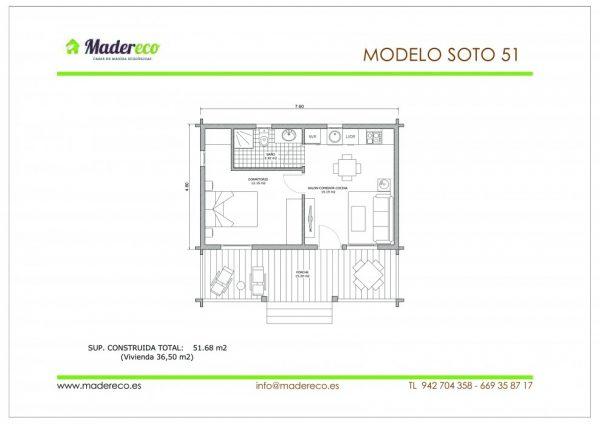 Casa prefabricada Soto 51