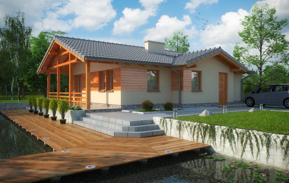 Casa de madera ecologica Rodezas 87