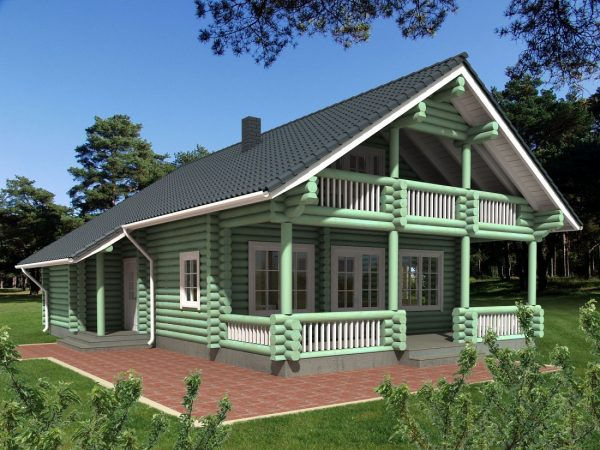Casa prefabricada de madera Ruente 188