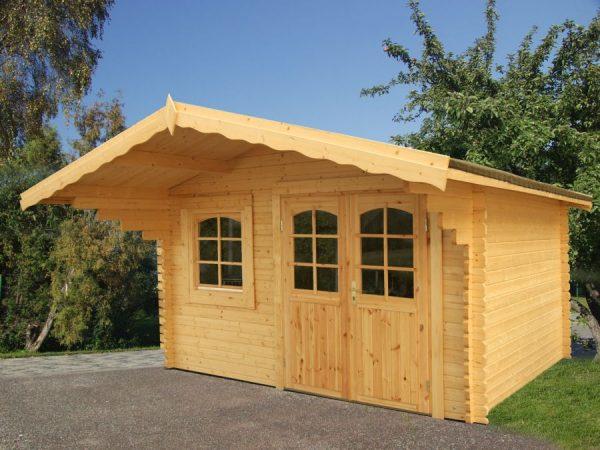 Casa de madera prefabricada Sally