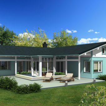 Casa prefabricada Zurita 284